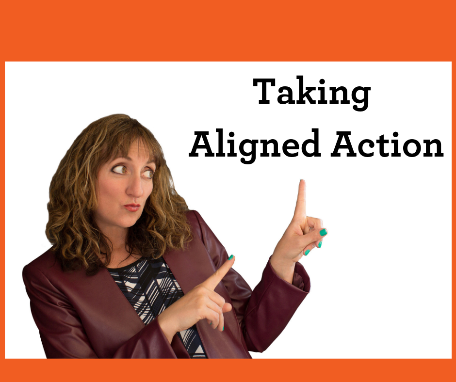 159 Just Giovanna: Taking Aligned Action
